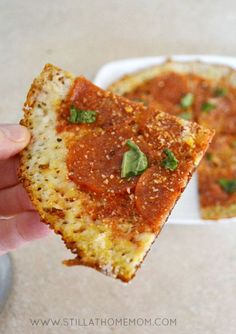 Low Carb Skillet Pizza