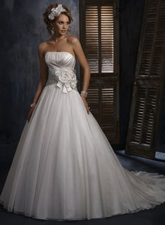 Large View of the Hadley Bridal Gown  I LOVE THIS DRESS!
