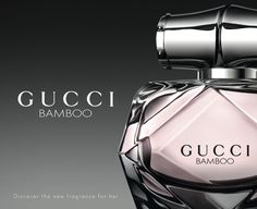 Gucci Bamboo ~ The composition is floral-woody. It opens with citrusy accords of bergamot leading to the exotic floral heart of ylang-ylang, Casablanca lily and orange blossom. Intense notes of sandalwood, Tahitian vanilla and amber form the base. Avail in 50ml & 100ml edp with body lotion, shower gel, & deodorant.
