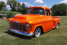1957 CHEVROLET 3100 CUSTOM PICKUP - Barrett-Jackson Auction Company - World's Greatest Collector Car Auctions
