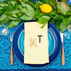 Nature's placecards
