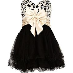 Black Print Prom Dress - Sweetheart Prom Dress with Bow Belt http://www.loveitsomuch.com/