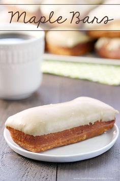 Maple Bars | Love Bakes Good Cakes | Bloglovin