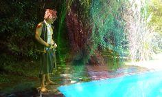 Aurora en el agua - Natsu Dragneel Cosplay Photo - Cure WorldCosplay