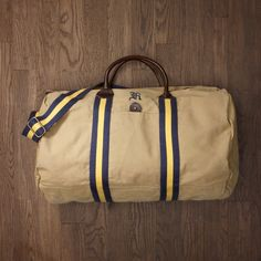 3fab971d92 Ralph Lauren Rugby Old-School Duffle Canvas Duffle Bag