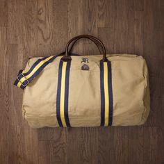 Old school duffle bag