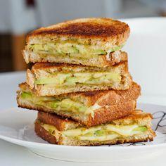 Avocado Pesto Grilled Cheese {Gluten-Free}