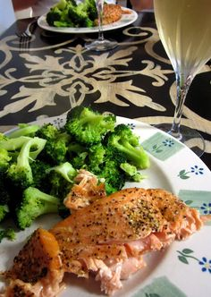 Easiest Salmon Recipe Ever!  Lemon-pepper salmon. I used fresh lemon and cooked it in a pan to internal temp 140F.