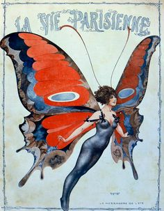 Chéri Hérouardcover art for La Vie Parisienne May, 1917