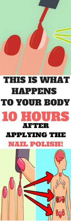 This is What Happens to Your Body 10 Hours After Putting on Nail Polish Powerful Article
