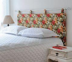 diy cabeceira cama original