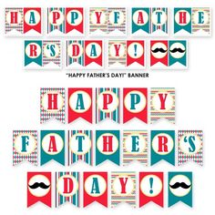 free fathers day party printables decorations