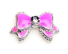 Set of 10 3D Pink Rhinestone Bow Tie Manicure Nail Art Decorations By Cheeky® Cheeky http://www.amazon.com/dp/B00G99SYV8/ref=cm_sw_r_pi_dp_xetyub18EPFTP