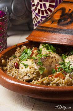 A Moroccan Countryside Mediterranean Chicken Tagine | 31Daily.com