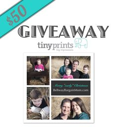 50 Dollars Tiny Prints Code! Ends 11/18.
