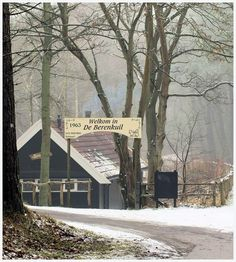 Berenkuil Schoorl winter foto Ron de Vries