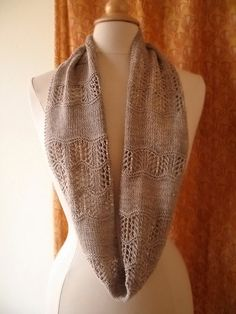 Shallows Cowl or Scarf Knitting Pattern by bluepeninsula on Etsy