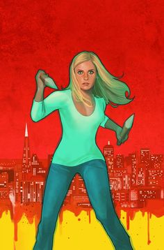 It should be pretty well established I love Buffy and I love Phil Noto artwork. But, I want to marry this Buffy by Noto and make babies. Phil Noto, Sarah Michelle Gellar, Joss Whedon, Pop Punk, Black Widow, Buffy Im Bann Der Dämonen, Buffy Summers, John Keats, Comics Girls