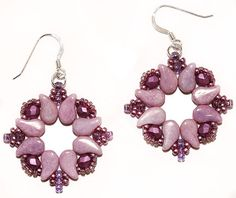 BeadSmith Project Venezia Earrings
