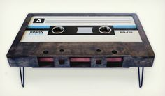 Cassettebandje tafel