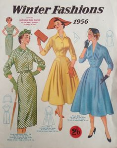 Australian Home Journal - 50's fashion
