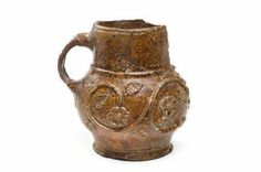 Cologne stoneware Tudor mug, St Albans uk 1485-1603