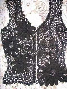 Outstanding Crochet: Irish Crochet. Ukrainian Crochet artist and designer Miroslava Gorohovich.