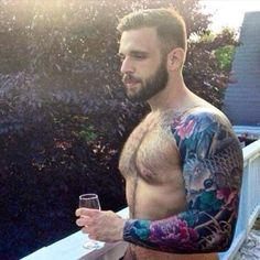 Impressive colored tattoo
