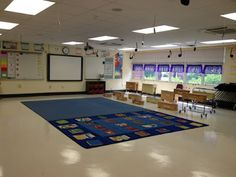 Okay this teacher has a REALLY big classroom, but there are good ideas on organization! Music with Mrs. Dennis: Tour My Classroom
