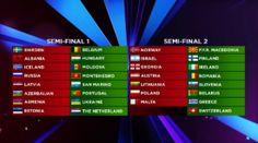 Eurovision Romania intra in partea a doua a Semifinalei 2 Eurovision 2014, Romania, Moldova, Semi Final, Lithuania, Macedonia, Montenegro, Slovenia, Hungary