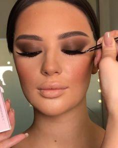 Soft Eye Makeup, Glam Makeup Look, Glamour Makeup, Eye Makeup Art, Dramatic Makeup, Body Makeup, Gorgeous Makeup, Makeup Kit, Contour With Eyeshadow