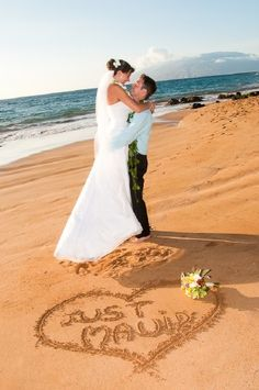 Maui Weddings From The Heart - Weddings 1 NOT maui'd but maybe the date and my bouquet.