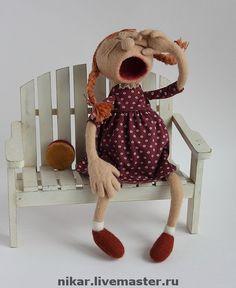 "Коллекционные куклы ручной работы. Ярмарка Мастеров - ручная работа Кукла валянная из шерсти ""Танечка"". Handmade."