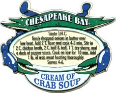 Cream of Crab soup recipe! I have been craving this for soooo long!!! Seafood Soup, Seafood Dishes, Seafood Recipes, Chili Recipes, Soup Recipes, Fish Recipes, Cooking Recipes, Crab Chowder, She Crab Soup