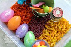 Tot Time: Spring Time Sensory Bins | According To JennyAccording To Jenny