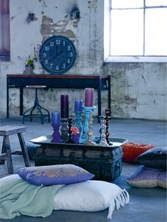 Boho eclectic style.