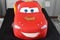 Rayo McQueen Cake paso a paso| Natalia Salazar - Disney Cars Party, Disney Cars Birthday, Lighting Mcqueen Cake, Mc Queen, Cakes, Projects, Car Cakes, Scrappy Quilts, Cakes With Fondant