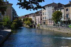 Isle sur la Sorgue. Beautiful little town in Provence France.