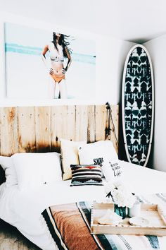 Montessori room: 100 incredible and clever projects - Home Fashion Trend California Apartment, California Bedroom, Dream Rooms, Dream Bedroom, Surfer Bedroom, Good Night Dear, Teen Room Designs, Surf Room, Bedroom Styles