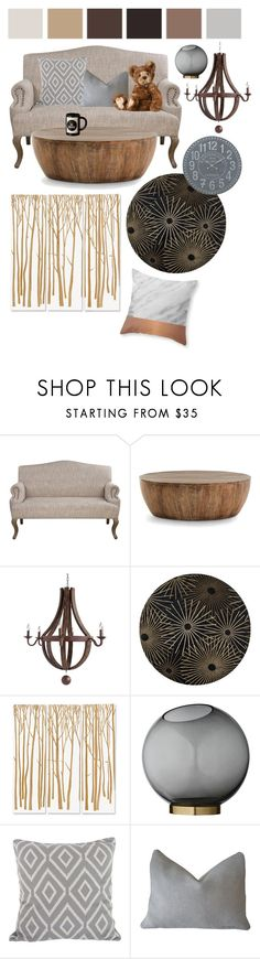 """Be brave"" by perpetto ❤ liked on Polyvore featuring interior, interiors, interior design, home, home decor, interior decorating, Seed Design, Arteriors, Décor 140 and Palecek"