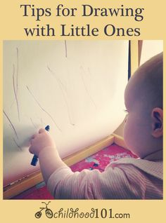 Tips for Drawing with Toddlers #kidsart #timetocreate