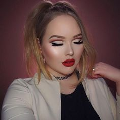 Make like NikkieTutorials and ditch your standard smoky eye for a colorful cut crease.