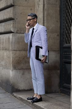 On the Street….The New Prep Standard, Paris. Photo by The Sartorialist.
