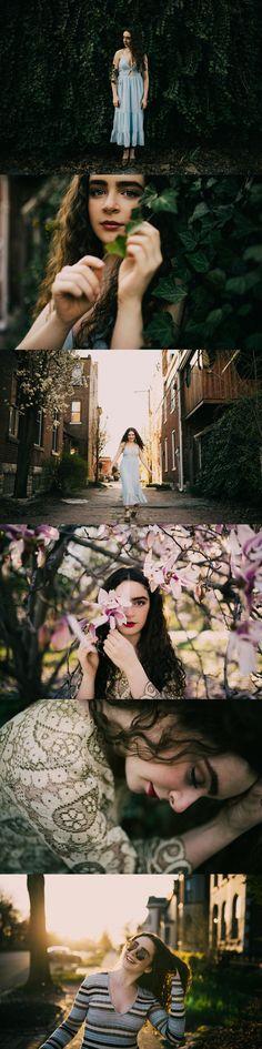 Fashion forward senior - Trendy girl senior photos - St. Louis Senior Pictures - senior girl poses - St. Louis Lifestyle Photographer - Charis Rowland Photography - Lafayette Square - indie - modern - hipster - boho - botanical