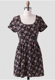 Rose Lane Back Cutout Dress