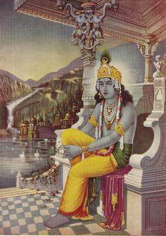 Heritage of India: Madhusudan (Lord Sri Krishna) vintage art print Krishna Lila, Radha Krishna Love, Radhe Krishna, Lord Krishna, Shiva, Indian Art Gallery, Radha Krishna Wallpaper, Krishna Images, Hanuman Images