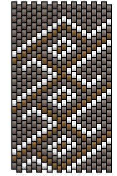 Risultati immagini per regaliz pattern peyote