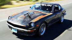 These Guys Brought A Rusty Chevy-Powered 1971 Datsun In An Autocross!