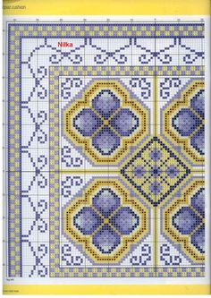 Cross-stitch Blue Topaz, part 2...  color chart on part 3...     Gallery.ru / Фото #34 - 32 - Orlanda