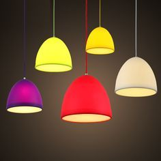 Buy Creative Collapsible Colorful Silicone Pendant Light with Lowest Price and Top Service!